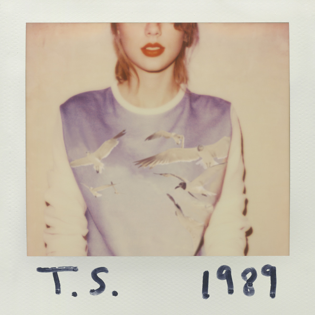 """1989"" Album Cover by Taylor Swift (Big Machine, 2014)"