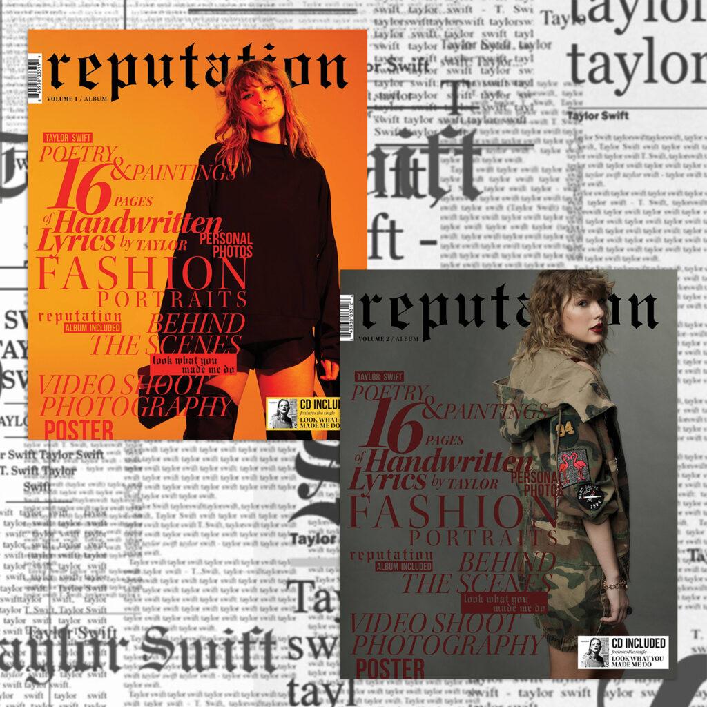 """reputation"" Magazine, Volume 1 & 2 - Front"
