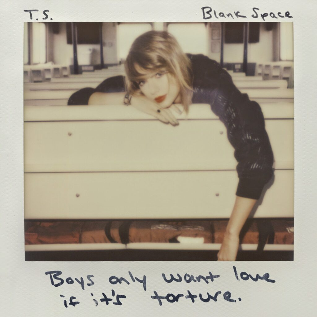 Blank Space by Taylor Swift (1989)