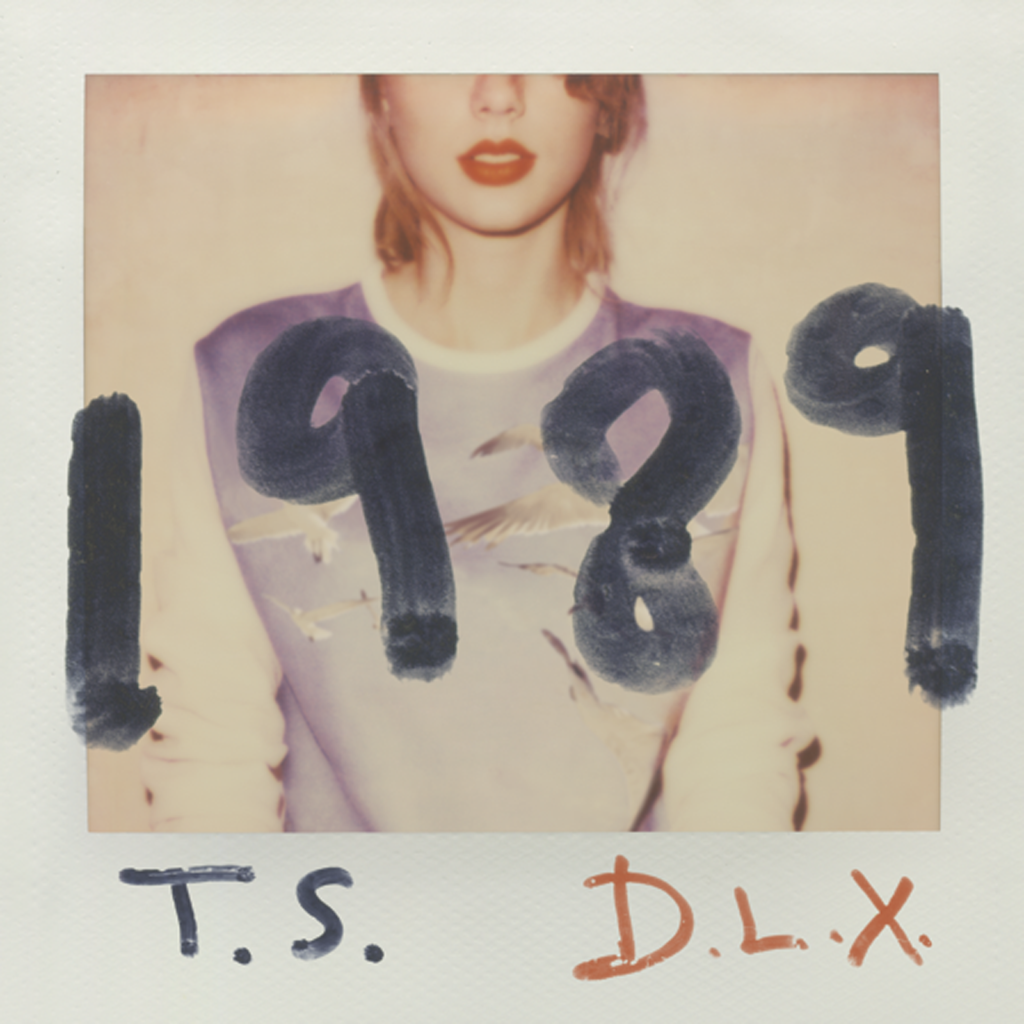 """1989"" Deluxe Edition Album Cover by Taylor Swift (Big Machine, 2014)"