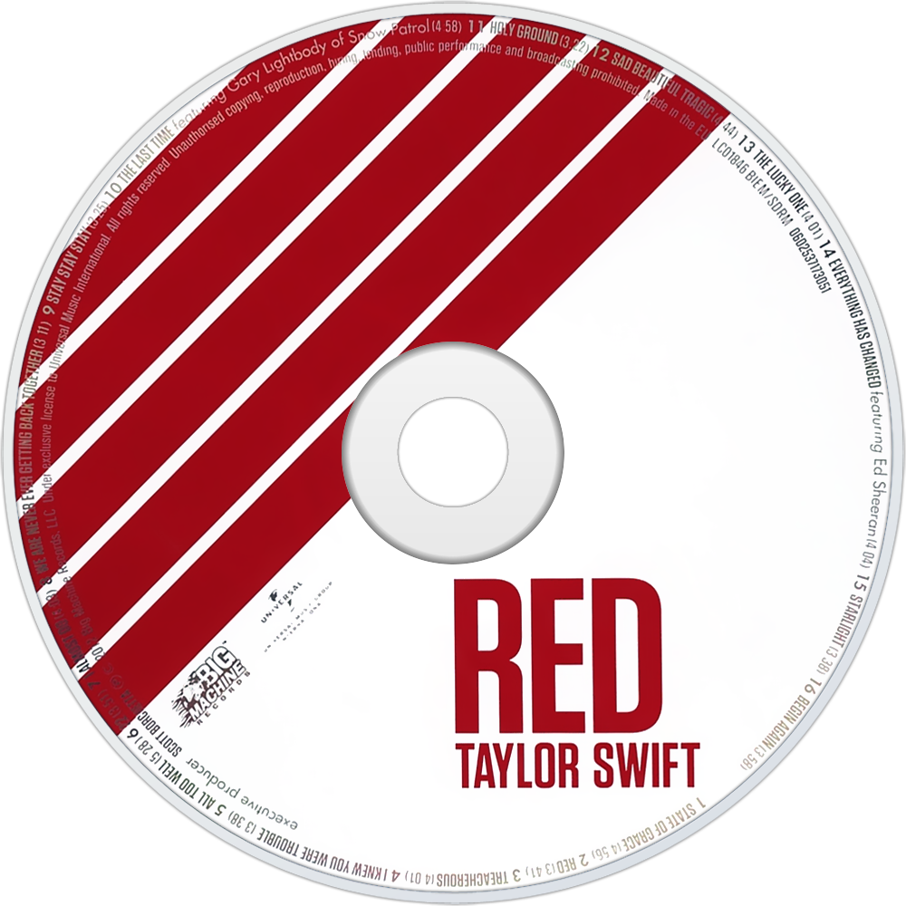 RED CD Disc (Standard Edition)