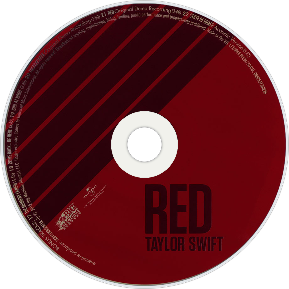 RED CD Disc (Deluxe Edition)