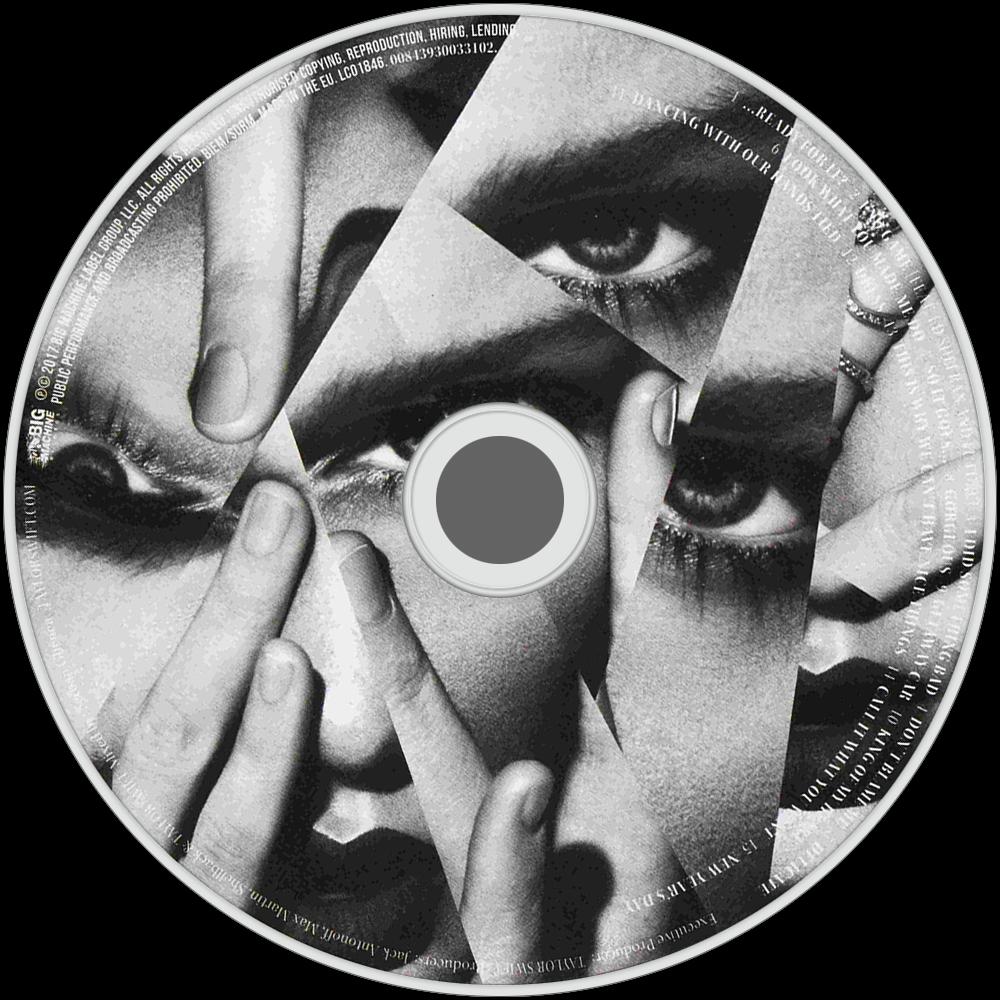 reputation CD Disc