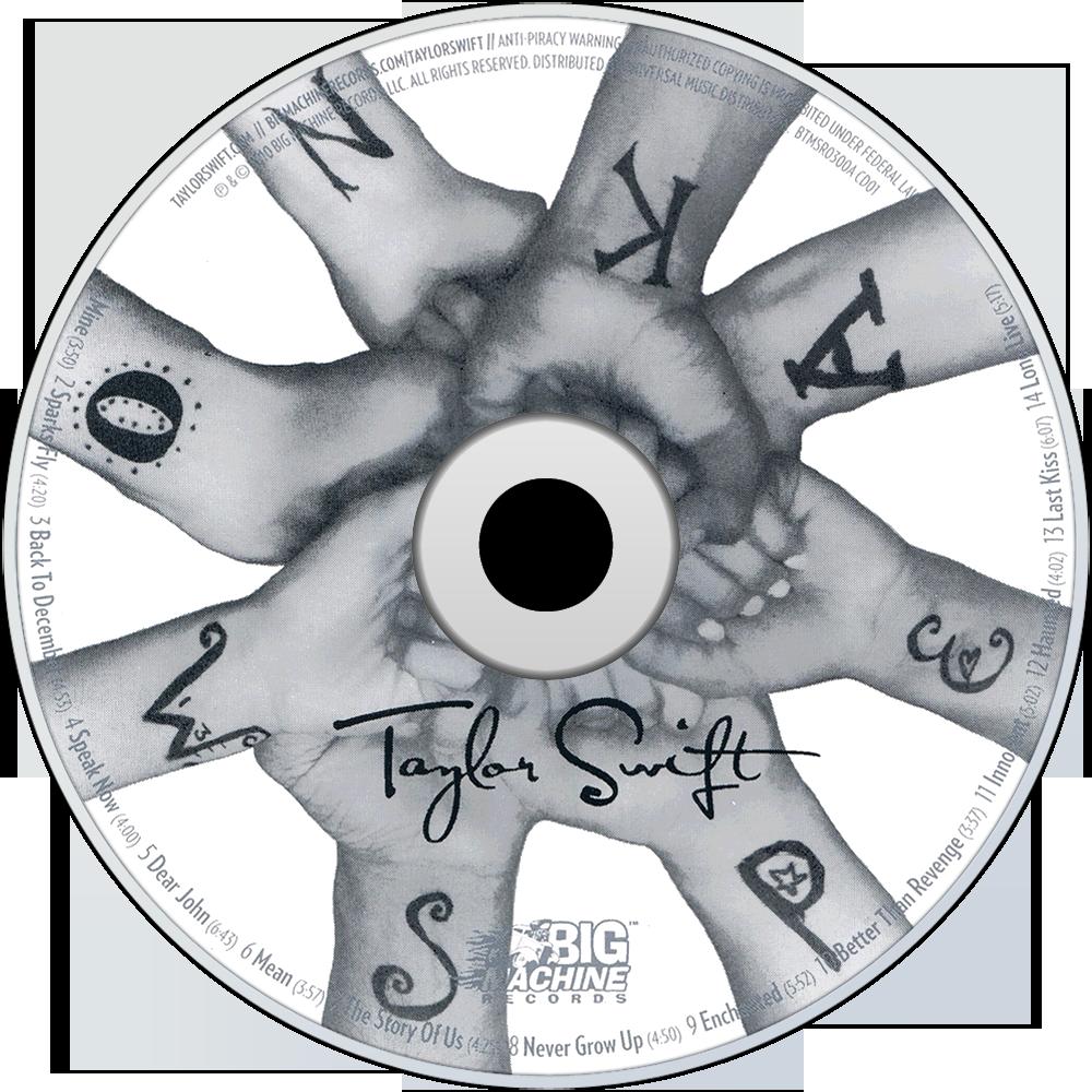 Speak Now CD Disc (Standard Edition)