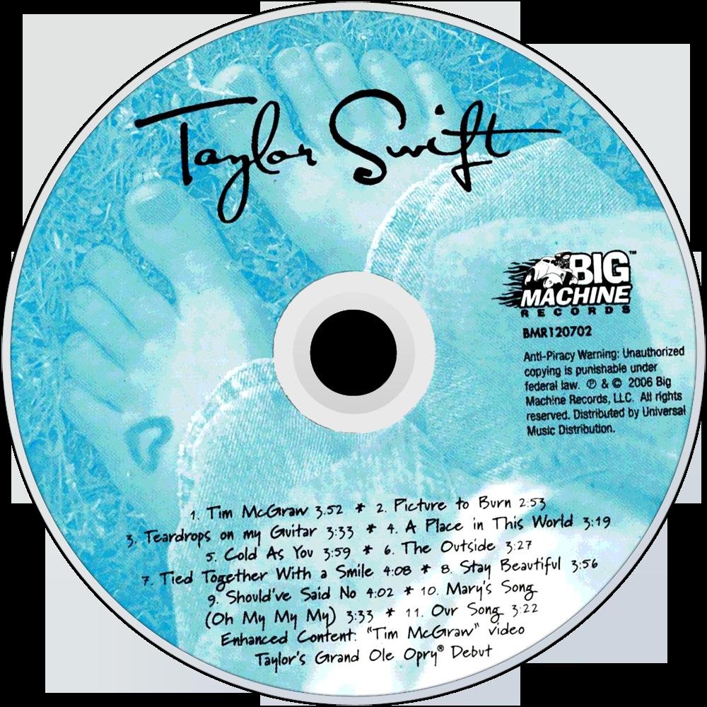 Taylor Swift CD Design