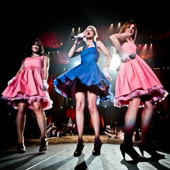 "Taylor on the ""Speak Now World Tour"" (2011)"