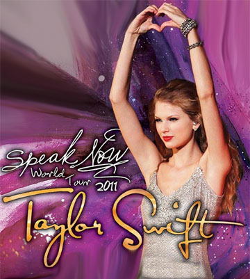 Promotional Picture for the Speak Now World Tour (2011-2012)