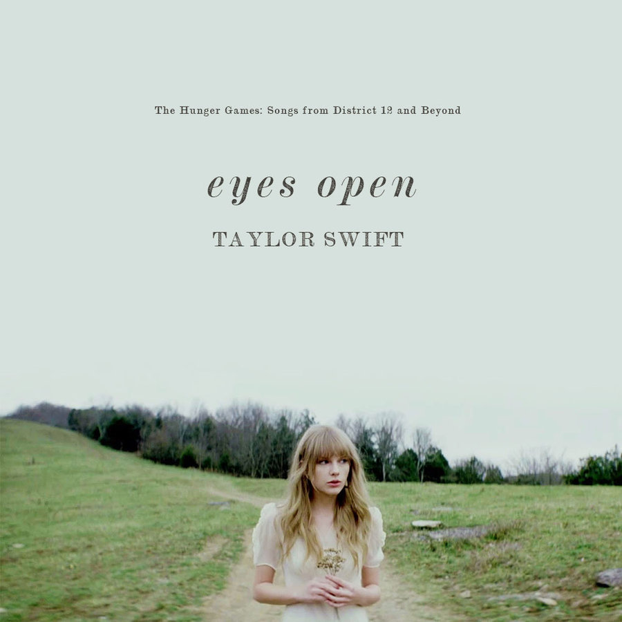 Eyes Open by Taylor Swift (Big Machine Records, 2012)