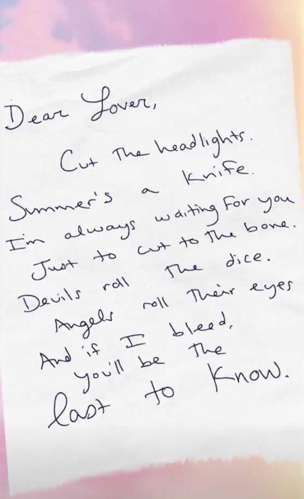 Cruel Summer Lyrics