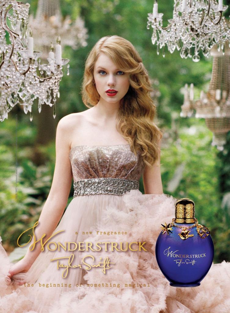 Taylor Swift for Wonderstruck (Elizabeth Arden, 2011)