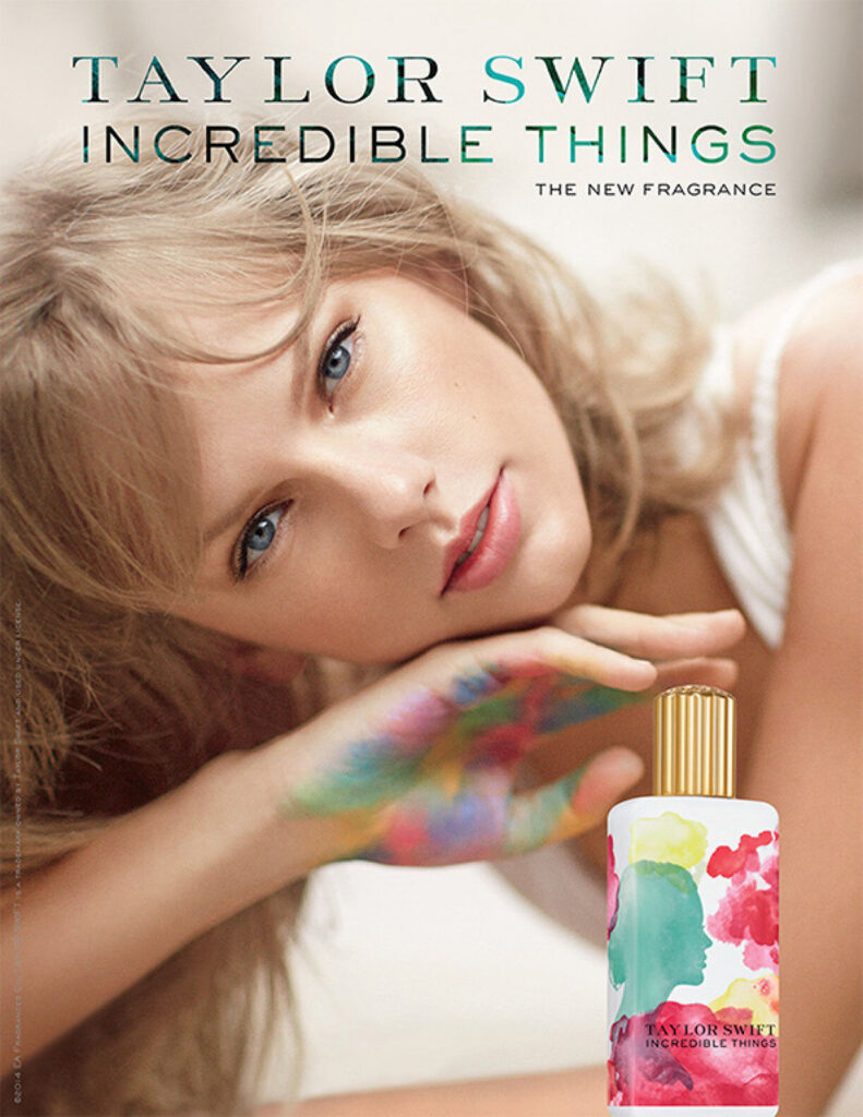 Incredible Things by Taylor Swift (Elizabeth Arden, 2014)