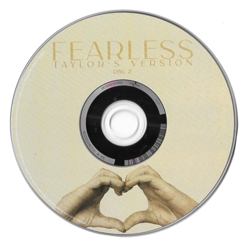 Fearless (Taylor's Version) CD Disc 2