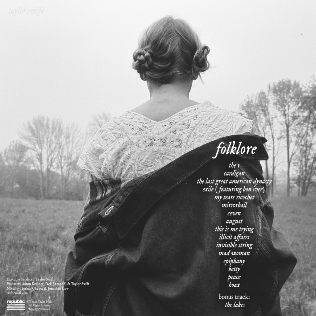 folklore Back Cover (Standard Edition)