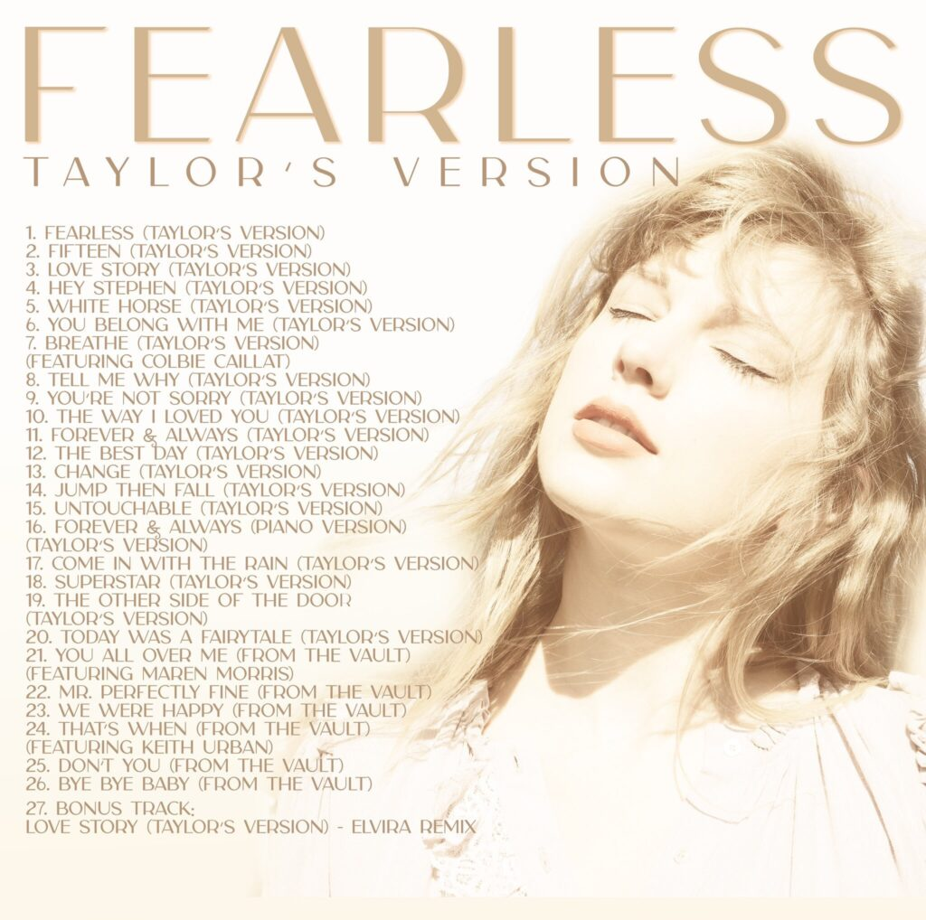 Fearless (Taylor's Version)