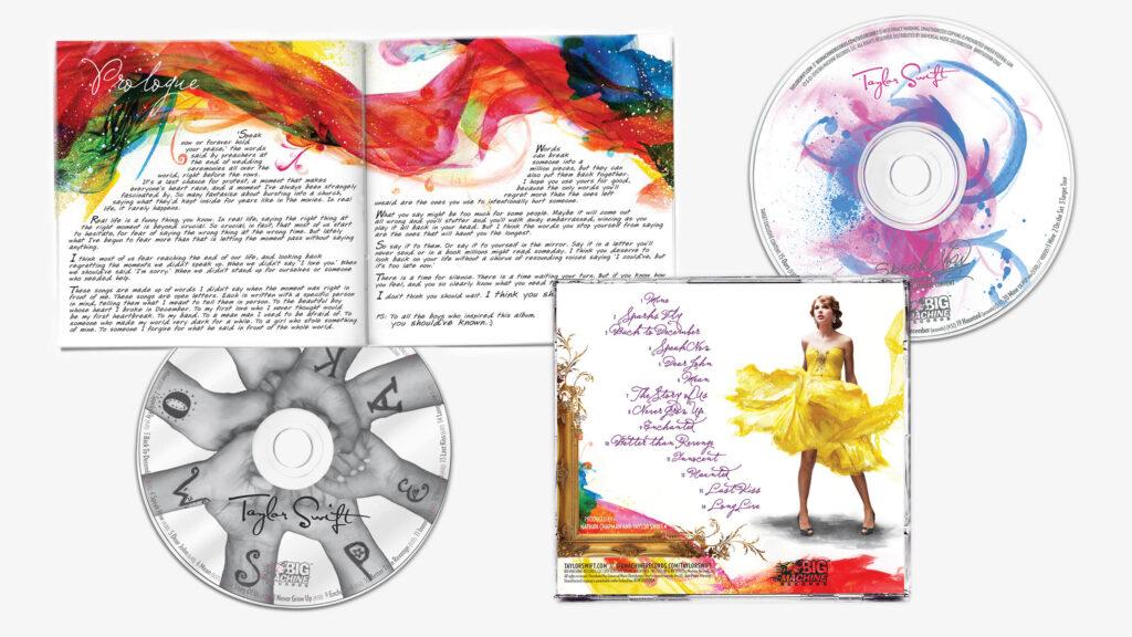 Speak Now (2010) Back Cover