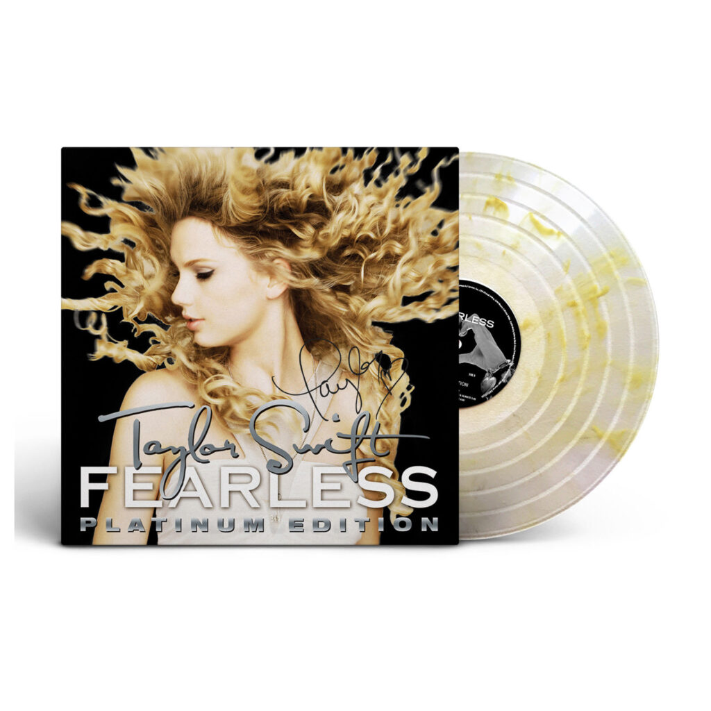 Fearless (Platium Edition) Vinyl 2: Record Store Day Limited Edition