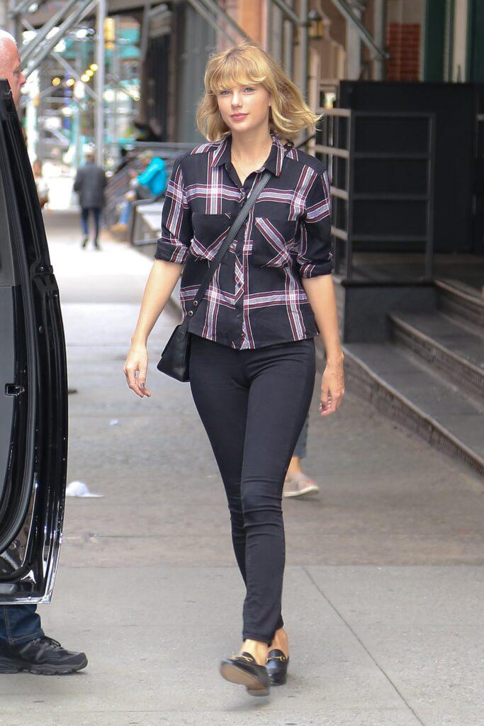 Taylor Swift in New York City on September 28, 2016